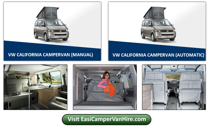 Show Campers Easirent Van Hire Preston | Car Hire Preston