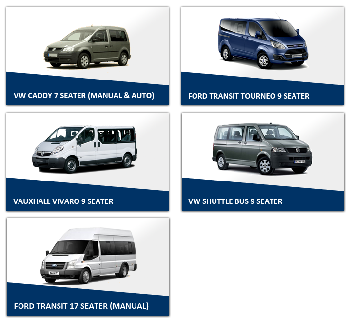 Show MPVs Easirent Van Hire Preston | Car Hire Preston