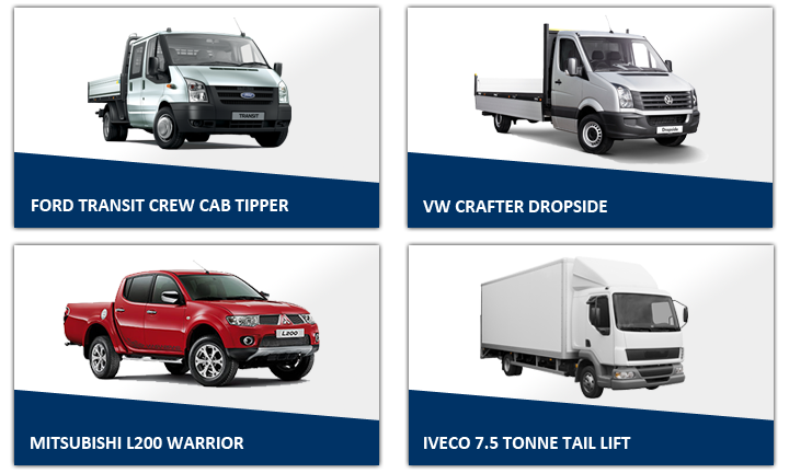 Show Vans 2 Easirent Van Hire Preston | Car Hire Preston