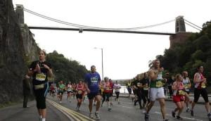 (Bristol Half Marathon runners)