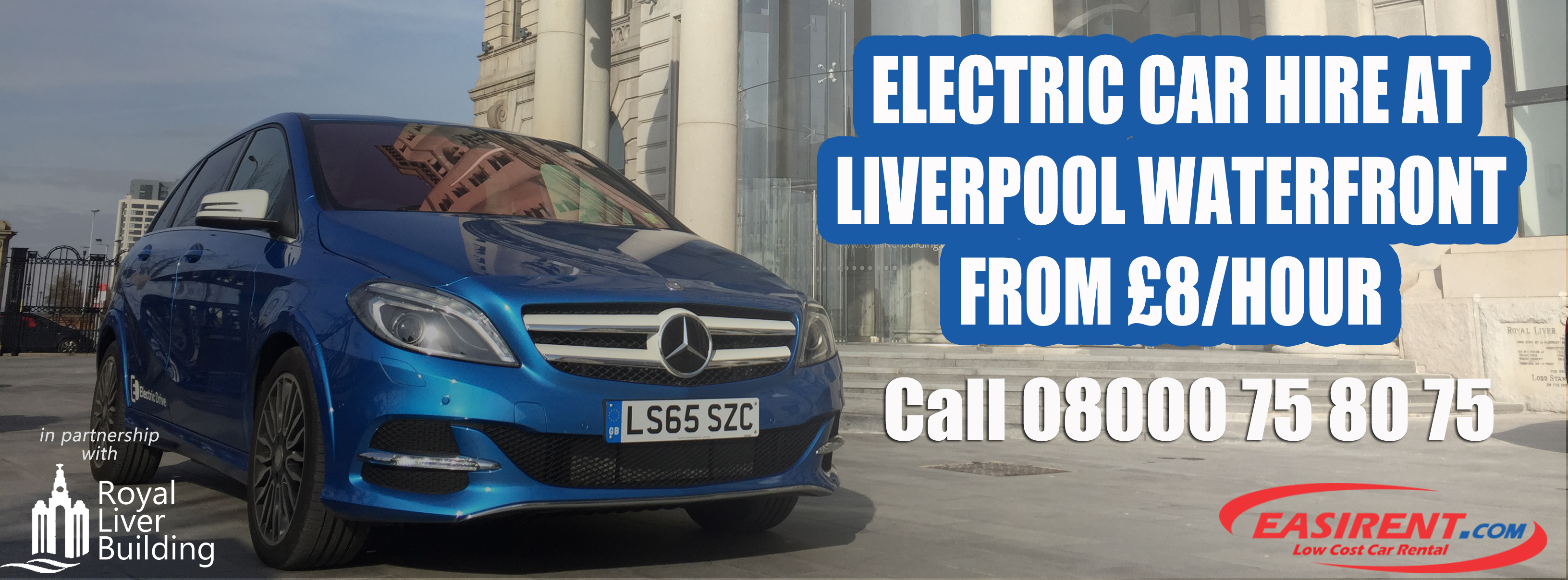 Electric Car Hire Liverpool City Centre Easirent