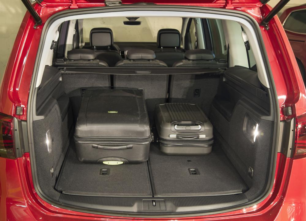 Ford Escape Trunk Space Dimensions >> Ford Galaxy Boot Capacity - Car Reviews 2018