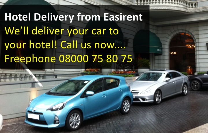 Hotel Car Hire Delivery
