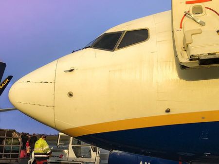 arrivals at dublin airport
