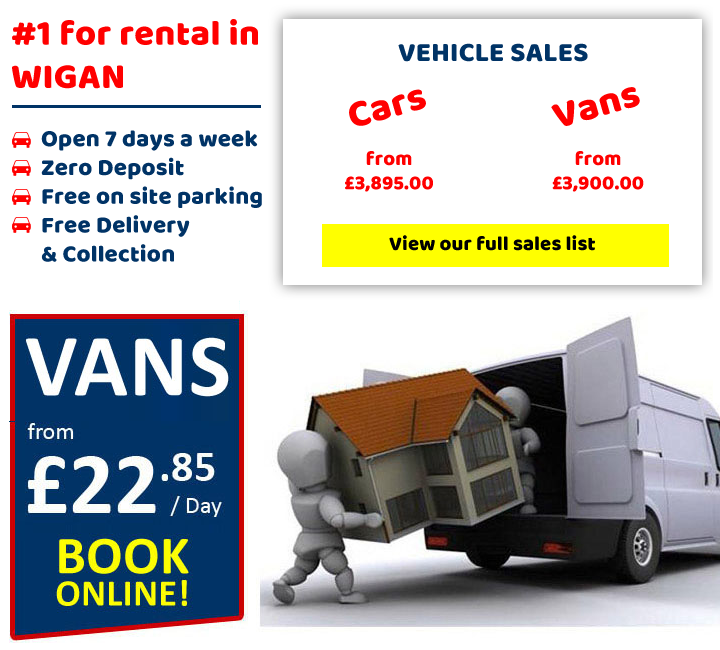 Easirent Car Van Hire Wigan