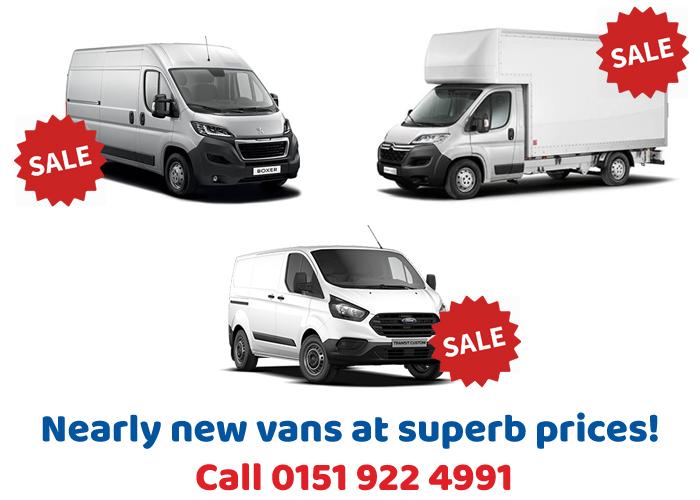 Used Van Sales Liverpool