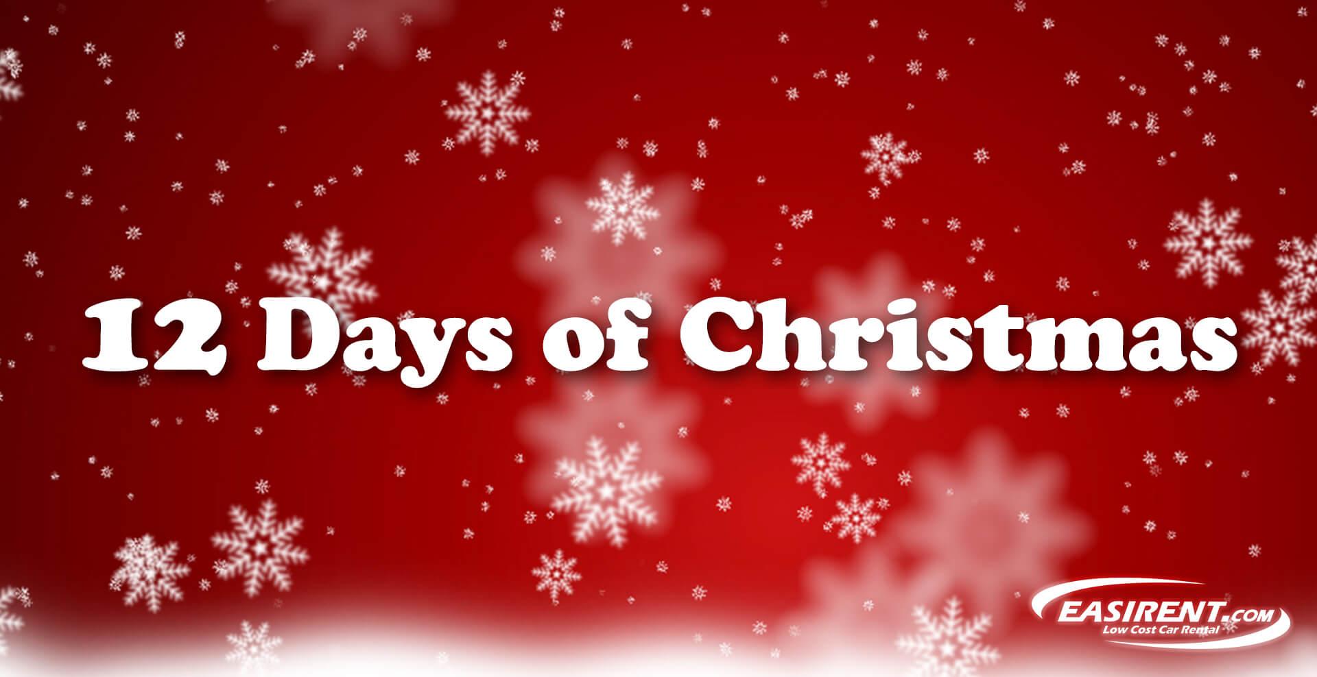 Christmas Deals.Easirent S 12 Days Of Christmas Deals Start Now Easirent