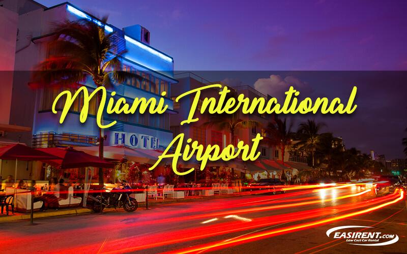 car rental Miami airport